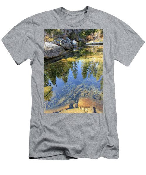Magic Light On Big Silver Men's T-Shirt (Athletic Fit)