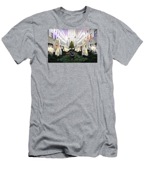 Magic Of Christmas Men's T-Shirt (Athletic Fit)