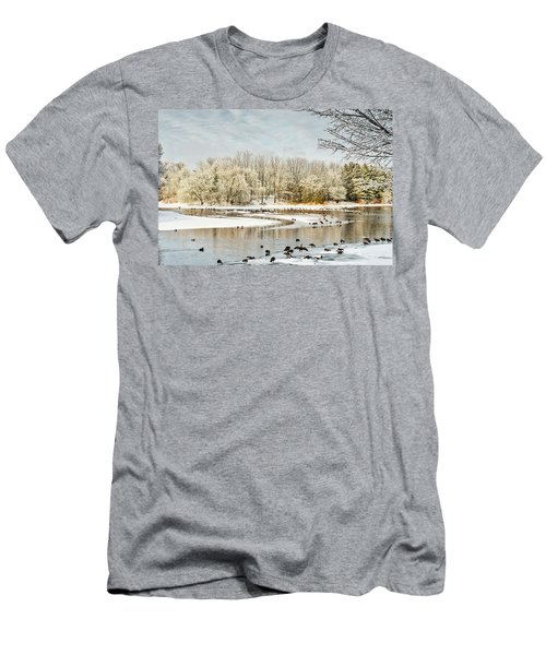 Magic Of Winter Men's T-Shirt (Athletic Fit)