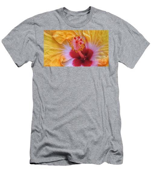 Magical Hibiscus  Men's T-Shirt (Athletic Fit)
