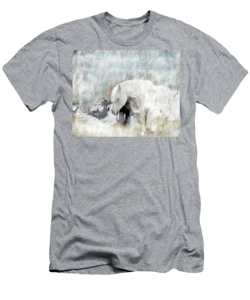Magical Moments On A Snowy Winter's Day Men's T-Shirt (Athletic Fit)