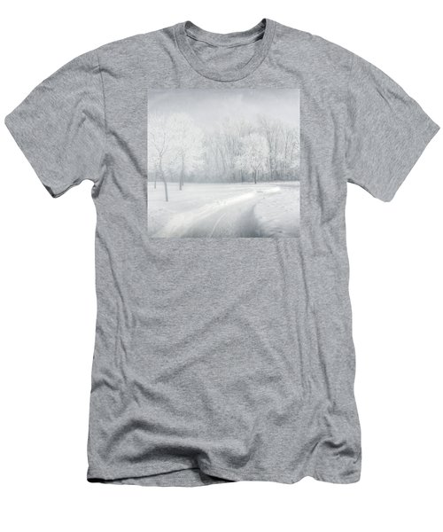 magical Winter day Men's T-Shirt (Athletic Fit)