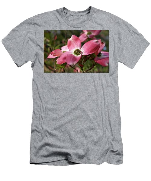 Men's T-Shirt (Athletic Fit) featuring the photograph Magnificent Dogwood Flower by Michele Myers