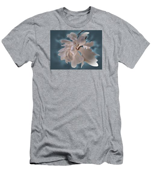 Men's T-Shirt (Slim Fit) featuring the photograph Magnolia Blossoms by Judy Johnson