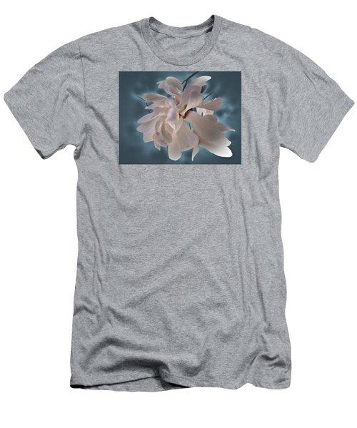 Magnolia Blossoms Men's T-Shirt (Athletic Fit)