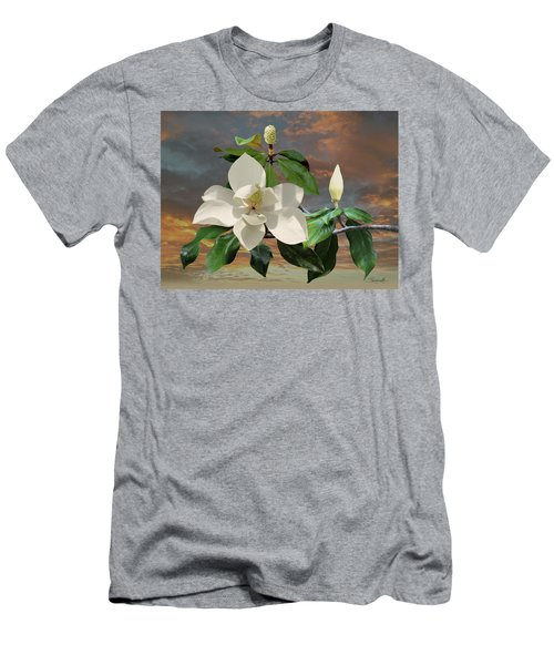 Magnolia Sunset Men's T-Shirt (Athletic Fit)