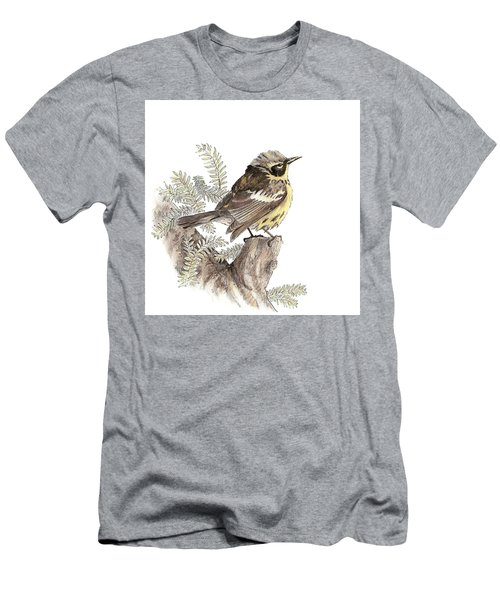 Magnolia Warbler Men's T-Shirt (Athletic Fit)
