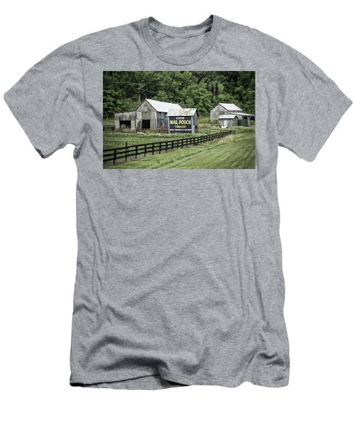 Mail Pouch Tobacco Barn Men's T-Shirt (Athletic Fit)