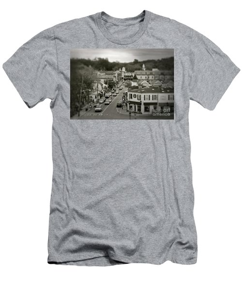 Main Street, Port Jefferson, Ny Men's T-Shirt (Athletic Fit)