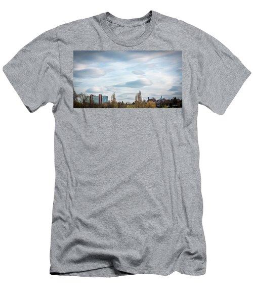 Majestic Cloud 2 Men's T-Shirt (Athletic Fit)