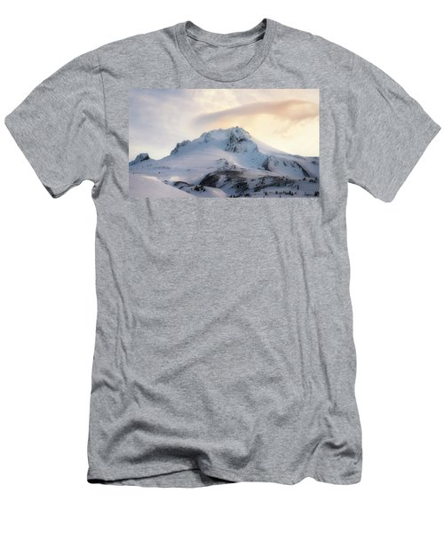 Men's T-Shirt (Slim Fit) featuring the photograph Majestic Mt. Hood by Ryan Manuel