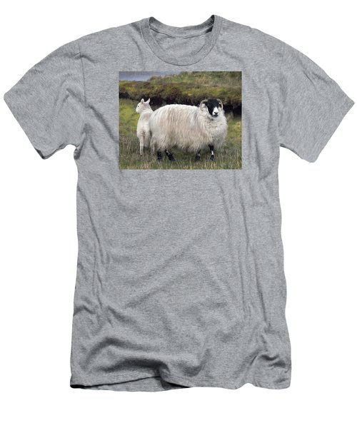 Majestic Ram Of Ireland Men's T-Shirt (Athletic Fit)