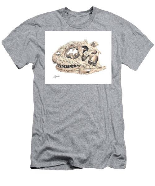 Majungasaur Skull Men's T-Shirt (Athletic Fit)