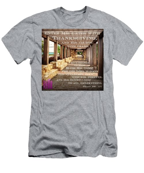 Make A Joyful Noise To The Lord, All Men's T-Shirt (Athletic Fit)