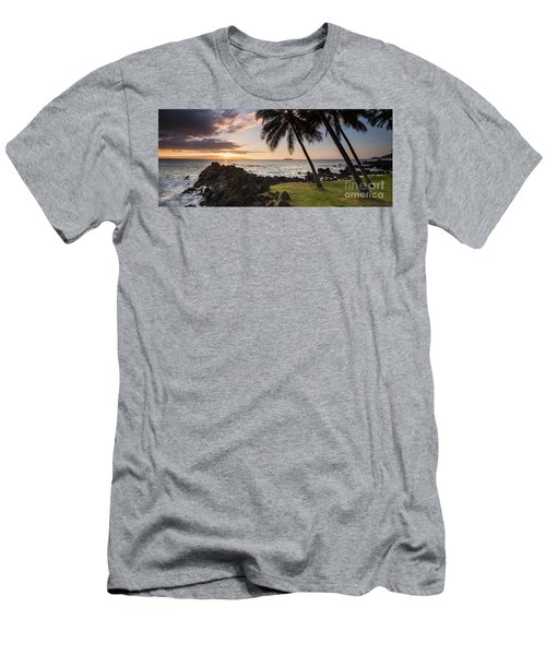 Makena Sunset Maui Hawaii Men's T-Shirt (Athletic Fit)