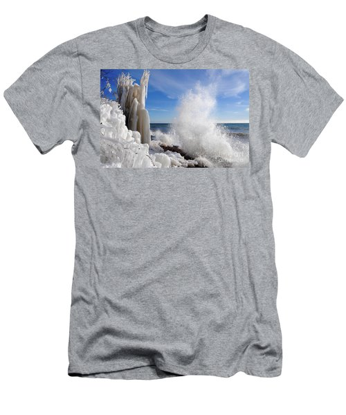 Making More Ice Men's T-Shirt (Slim Fit) by Sandra Updyke