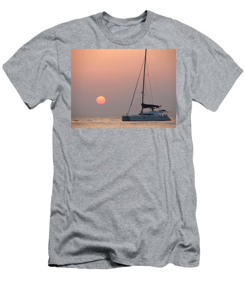 Men's T-Shirt (Slim Fit) featuring the photograph Mallorca 3 by Ana Maria Edulescu