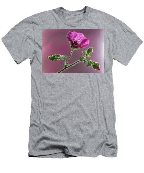Mallow Flower 3 Men's T-Shirt (Athletic Fit)