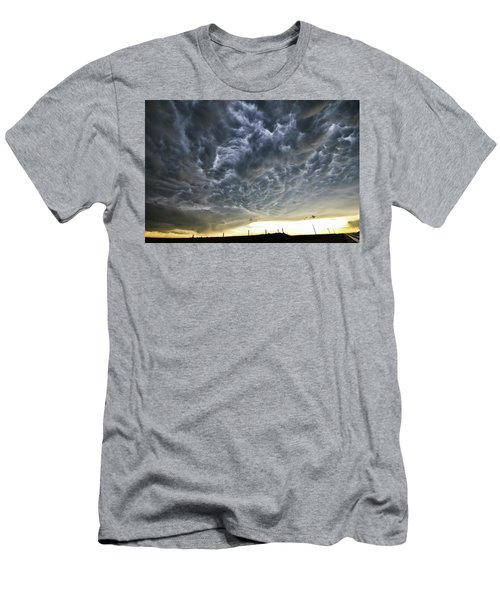Mammatus Over Nebraska Men's T-Shirt (Athletic Fit)