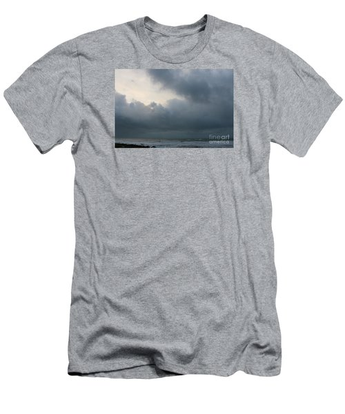 Men's T-Shirt (Slim Fit) featuring the photograph Man And Nature by Jeanette French