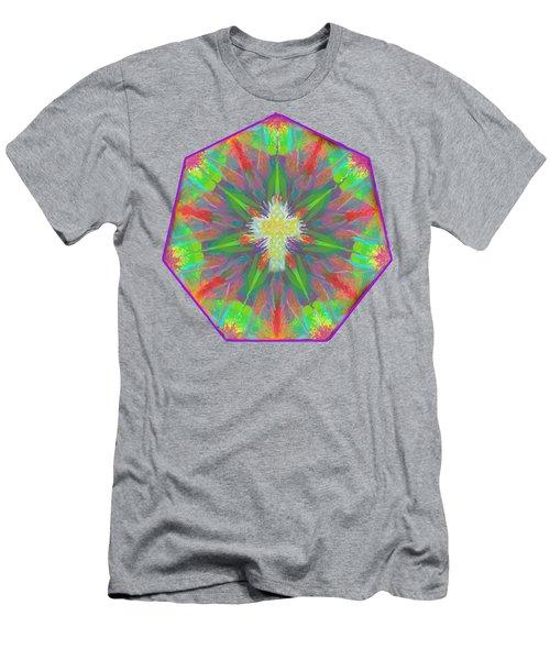 Mandala 1 1 2016 Men's T-Shirt (Slim Fit) by Hidden Mountain