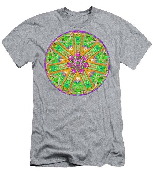 Mandala 12 27 2015 Kings And Priests Men's T-Shirt (Athletic Fit)