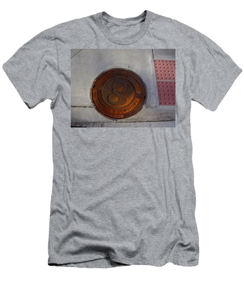 Manhole I Men's T-Shirt (Athletic Fit)