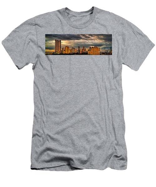 Manila Cityscape Men's T-Shirt (Athletic Fit)