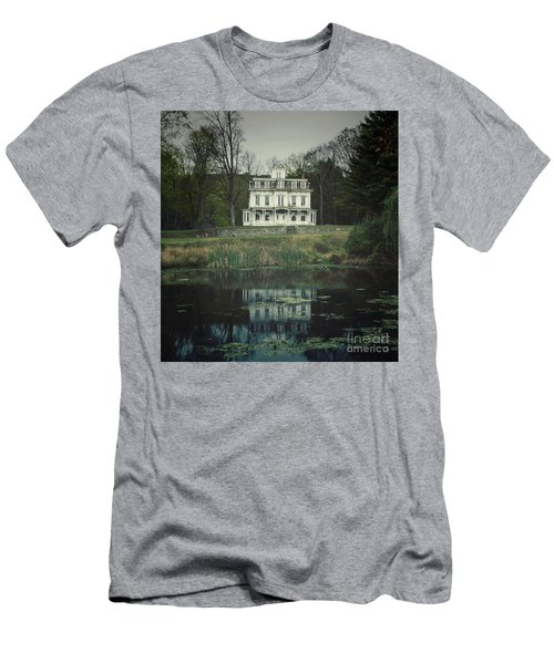Mansion Reflected At Waterloo Men's T-Shirt (Athletic Fit)