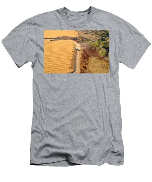 Many Acres To Harvest Men's T-Shirt (Athletic Fit)