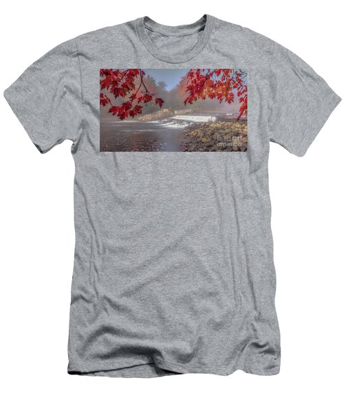 Maple Leaf Frame Ws Men's T-Shirt (Athletic Fit)
