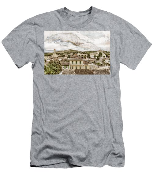 Mapping Trinidad Men's T-Shirt (Athletic Fit)