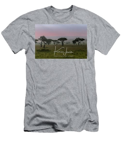 Men's T-Shirt (Slim Fit) featuring the photograph Mara Dawn by Karen Lewis
