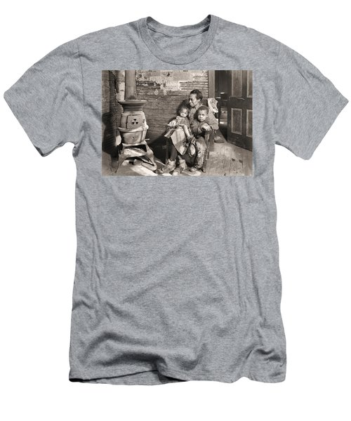 March 1937 Scott's Run, West Virginia Johnson Family. Men's T-Shirt (Athletic Fit)