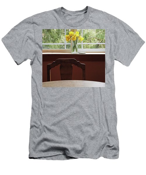 Men's T-Shirt (Slim Fit) featuring the photograph March by Laurie Stewart