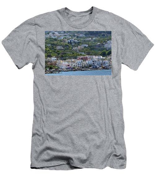 Marina Grande, Isle Of Capri Men's T-Shirt (Athletic Fit)
