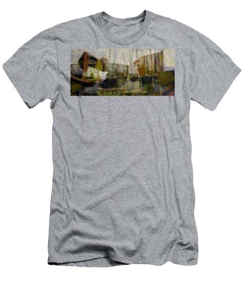 Marina Shapes II Men's T-Shirt (Athletic Fit)