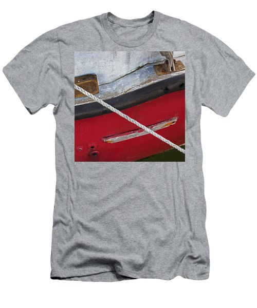 Men's T-Shirt (Athletic Fit) featuring the photograph Marine Abstract by Charles Harden