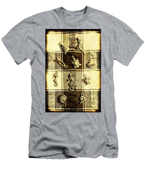 Marine Theme Men's T-Shirt (Athletic Fit)