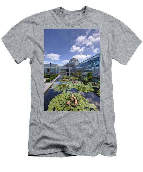 Marjorie Mcneely Conservatory At Como Park And Zoo Men's T-Shirt (Athletic Fit)