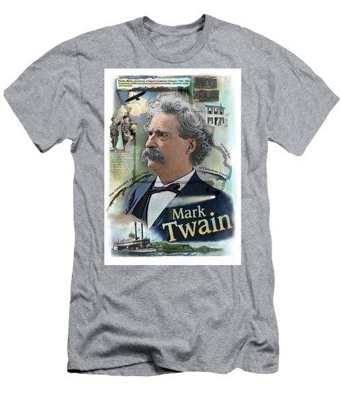 Mark Twain Men's T-Shirt (Athletic Fit)