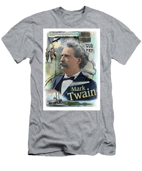 Mark Twain Men's T-Shirt (Athletic Fit)