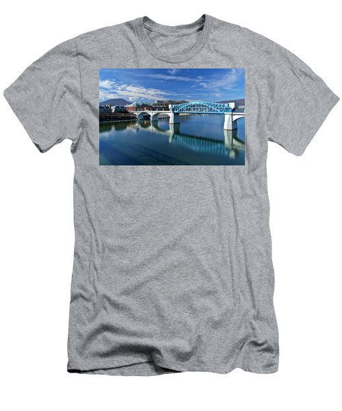 Market Street Bridge  Men's T-Shirt (Athletic Fit)