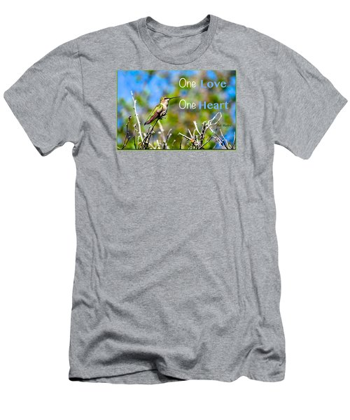 Men's T-Shirt (Slim Fit) featuring the photograph Marley Love  by David Norman
