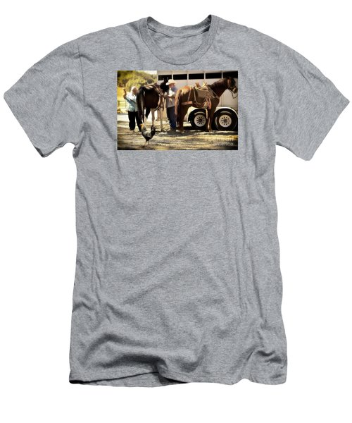 Marriage And The Deer Hunters Men's T-Shirt (Athletic Fit)