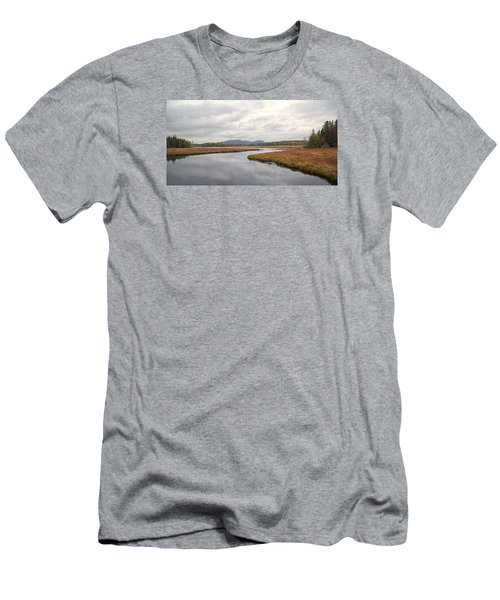 Marshall Brook No. 2 - Acadia - Maine Men's T-Shirt (Athletic Fit)