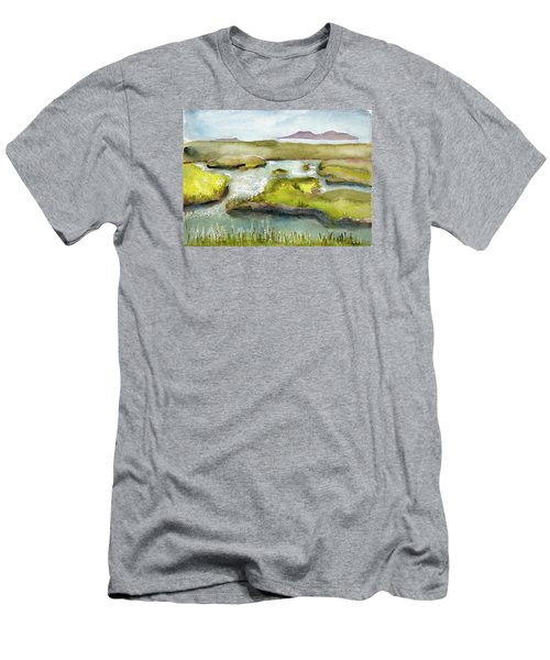 Marshes With Grash Men's T-Shirt (Athletic Fit)