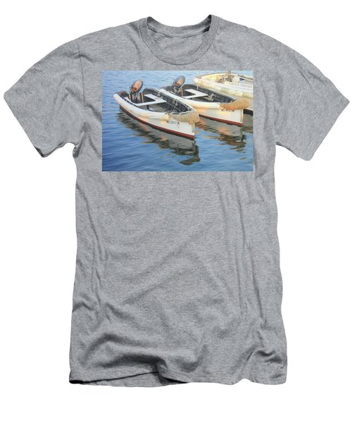 Martha's Vinyard Skiffs Men's T-Shirt (Slim Fit) by Roupen  Baker
