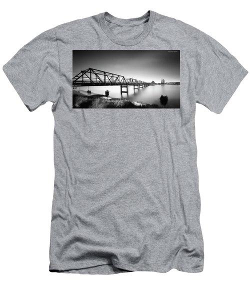 Martin Bridge 6666 Men's T-Shirt (Athletic Fit)