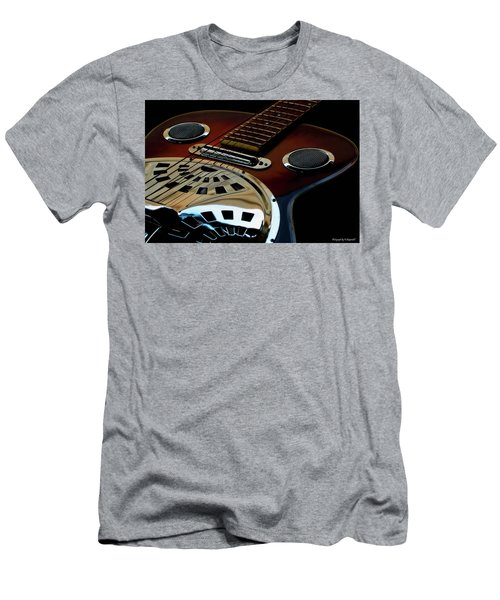 Martinez Guitar 002 Men's T-Shirt (Slim Fit) by Kevin Chippindall